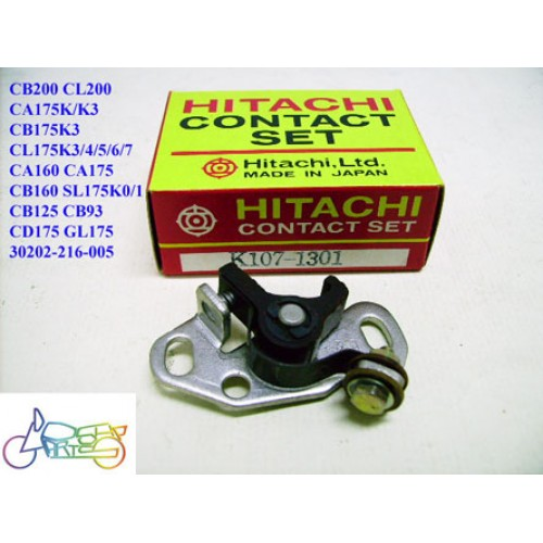 Honda CB93 CB125 CA160 CB160 CL160 CB175 CD175 CL175 SL175 CB200 CL200 Contact Point Hitachi 30202-216-005 free post