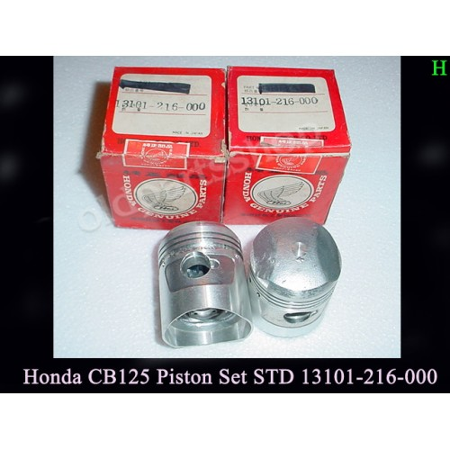 Honda CB93 Piston STD x2 CB125 PISTON Standard Size 13101-216-00 free post