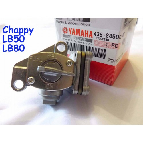 Yamaha Chappy LB50 LB80 Fuel Tap NOS GAS TANK Petcock 439-24500-02 Fuel Cock free post
