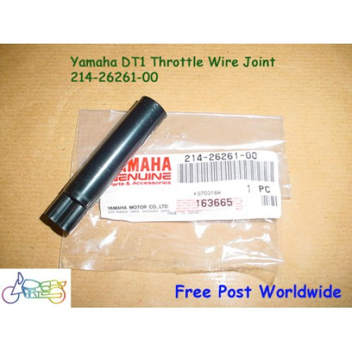 Yamaha AT1 AT2 CT1 CT2 DT1 DT2 DT3 DT100 RT1 RT2 LT2 LT3 HT1 RS100 MX100 Throttle Joint 214-26261-00