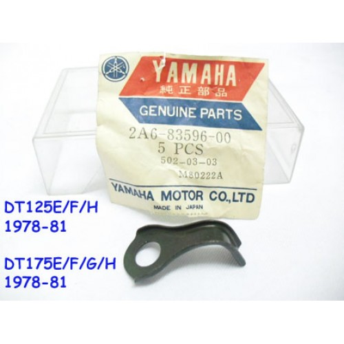 Yamaha DT125 DT175 Meter Bracket - Exhaust Clamp Bracket 2A6-83596-00