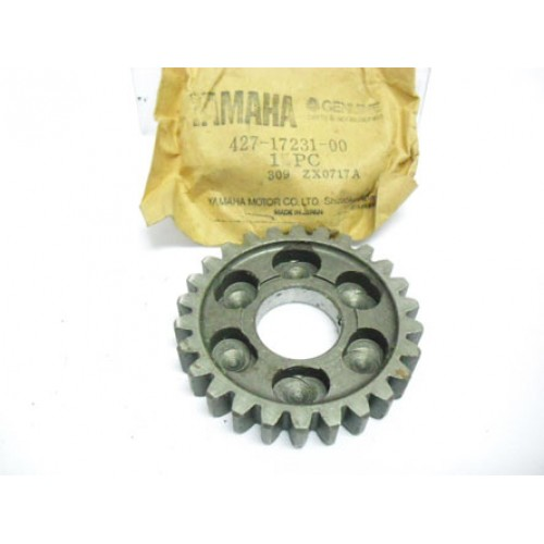 Yamaha AT1 AT2 CT2 CT3 DT100 DT125 DT175 Transmission Gear 3rd Wheel 427-17231-00