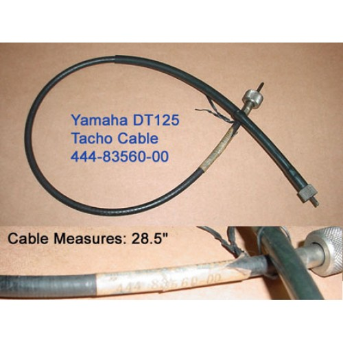 Yamaha DT125 Tacho Cable 444-83560-00 Tachometer Cable