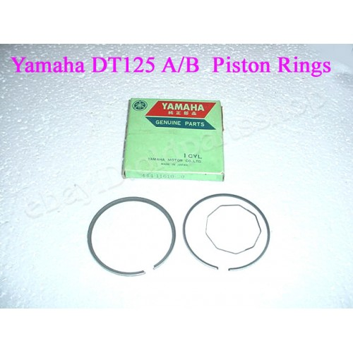 Yamaha DT125 Piston Ring Set 0.50 444-11610-20 2nd Over Size