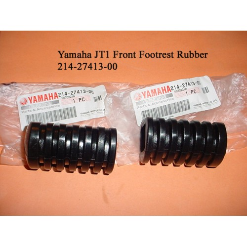 Yamaha JT1 JT2 AT1 AT2 CT3 DT2 DT3 DT100 DT125 DT250 DT360 Footrest Cover x2 PN: 214-27413-00 free post