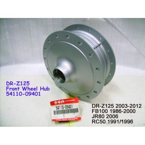 Suzuki DR-Z125 FB100 JR80 RC50 Front Wheel Hub 54110-09401
