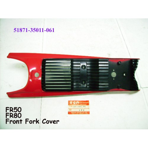 Suzuki FR80 Front Fork Cover 51871-35011-06 FRONT PANEL