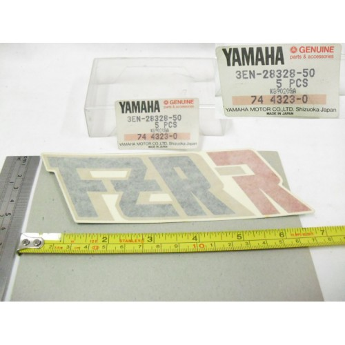 Yamaha FZR400 Side Cover Decal COWLING FAIRING Sticker 3EN-28328-50