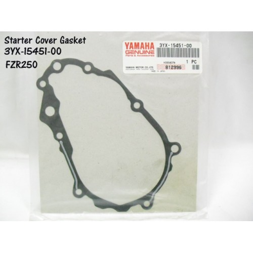 Yamaha FZR250 FZX250 Crankcase Cover Gasket Starter Cover 3YX-15451-00 free post