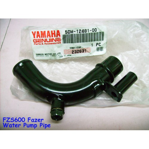 Yamaha FZS600 Water Pump Joint 1998-2003 Fazer 600 PUMP PIPE 5DM-12481-00 free post