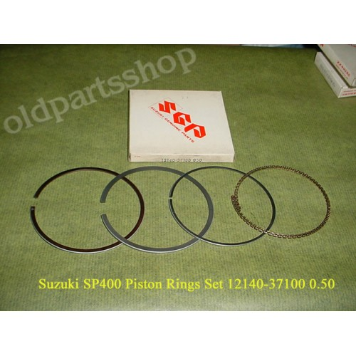 Suzuki GN400 SP400 Piston Ring 0.50 PN: 12140-37100 050 free post