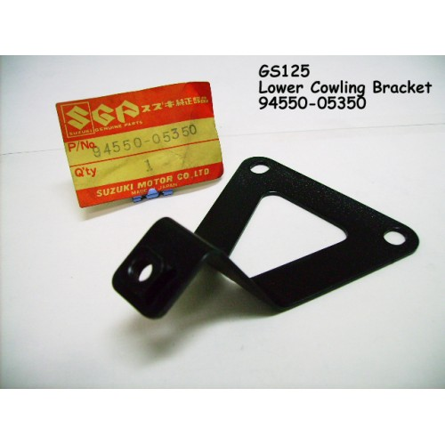 Suzuki GS125 Lower Cowling Bracket 94550-05350