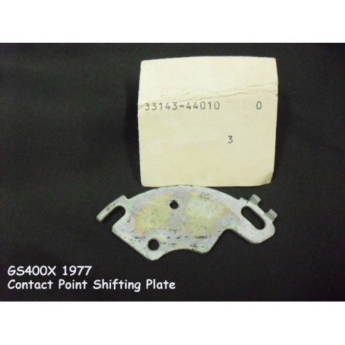 Suzuki GS400 Contact Point Plate 33143-44010