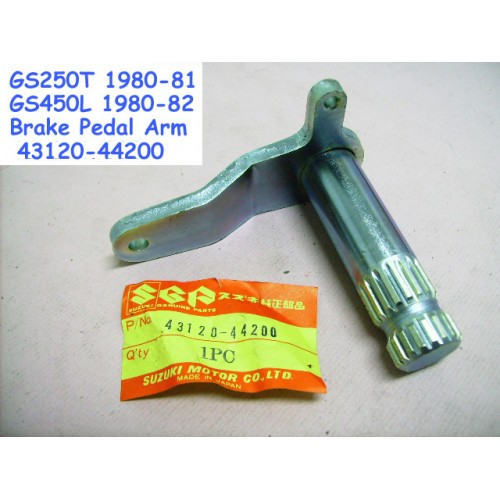 Suzuki GS250 GS450 Brake Pedal Rod Arm 43120-44200