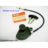 Suzuki GSX-R400 Helmet Lock with Keys GSXR400 95700-32810 free post