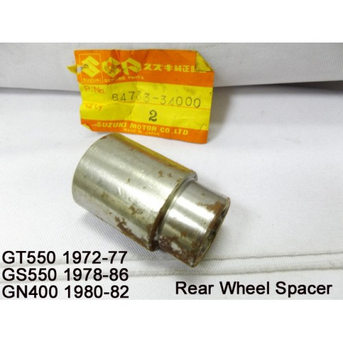 Suzuki GT550 GS550 GN400 Rear Wheel Spacer 64733-34000