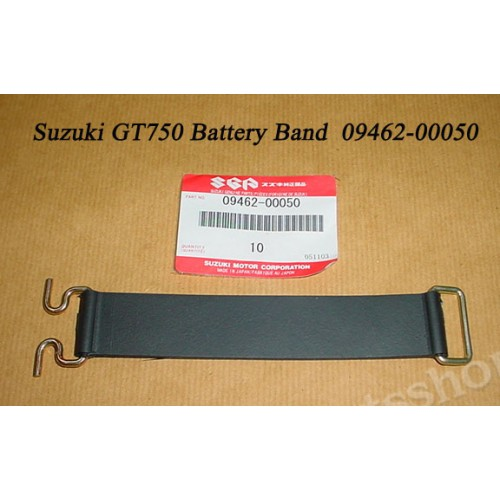 Suzuki GT750 Battery Band NOS 1972-1977 GT750 Rubber STRAP Holder 09462-00050