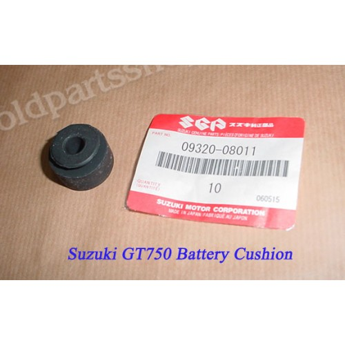 Suzuki GT750 Battery Cushion GT185 GT380 GT550 Rubber 09320-08011