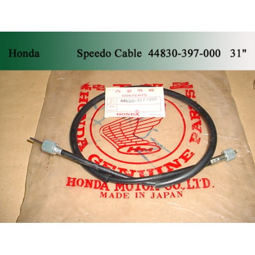 Honda CT90 CL70 CL90 CB125 CG125 CA200 CT200 Speedo Cable 44830-397-000 free post