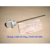 Honda CA200 CT200 C200 Oil Plug DIP STICK Oil Level Gauge 15650-030-000 free post