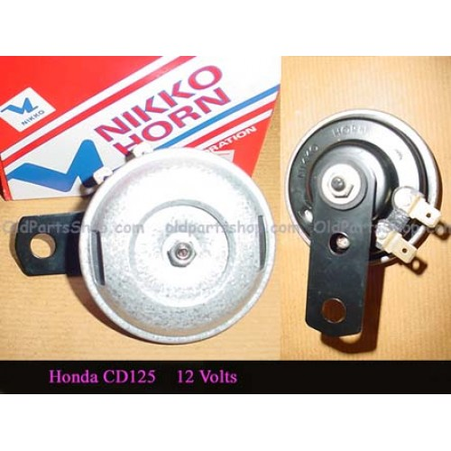 Nikko Horn 12v Honda CB125 CD125 Horns
