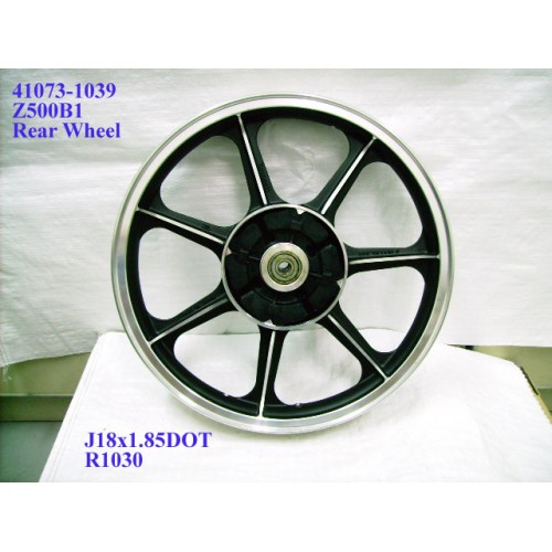 Kawasaki Z500 Wheel Cast 41073-1039 Z500B1 KZ500 Rear Rim
