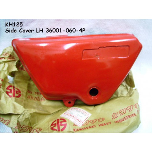 Kawasaki KH125 Side Cover LH 36001-060-4P free post