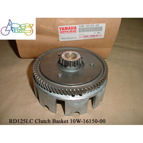 Yamaha RZ125 RD125LC RD125YPVS Clutch Basket, Primary Gear MK1 MK2 10W-16150-00 free post