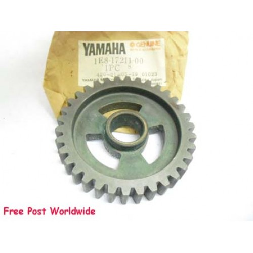Yamaha RD200 RD200DX Transmission Gear 1E8-17211-00