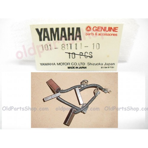 Yamaha AT1 AT2 AT3  DT125 RD200 CT1 CT2 CT3 Carbon Brush x4 ENDURO 101-81111-10 freepost