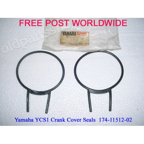 Yamaha YCS1 CS3 CS5 RD200 Crank Seal x2 174-11512-00 free post