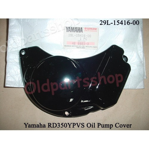 Yamaha RD350YPVS RZ350 Oil Pump Cover 29L-15416-00 2T PUMP CASE 31K 48H 1UA free post