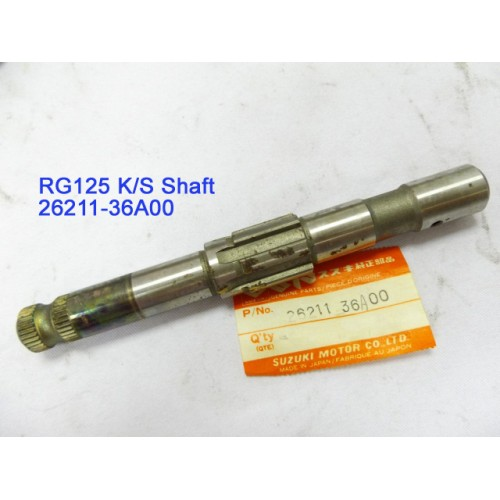 Suzuki RG125 Kickstarter Shaft 26211-36A00 free post