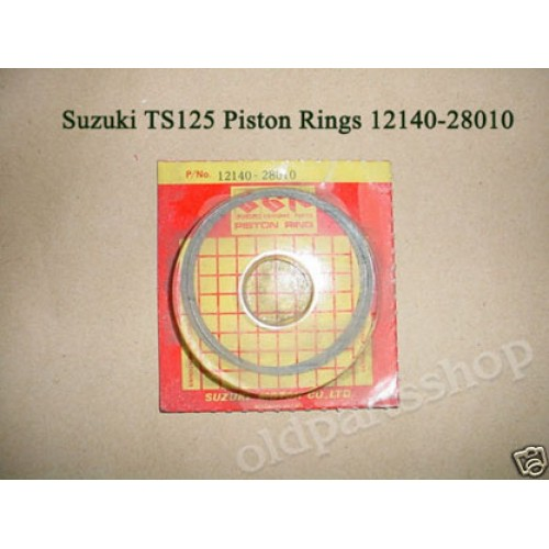 Suzuki TS125 TC125 RM125 RV125 Piston Ring STD Size 12140-28010 free post