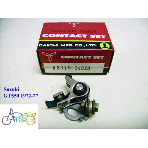 Suzuki GT550 Contact Point 1972-1977  PN: 33170-34020 free post