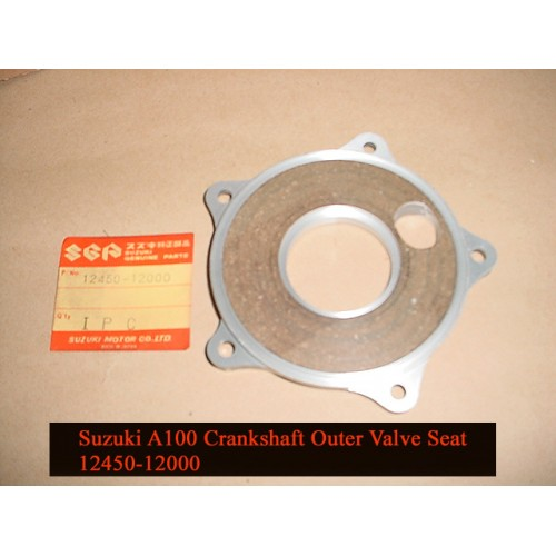 Suzuki A100 Crankshaft Outer Valve Seat free post