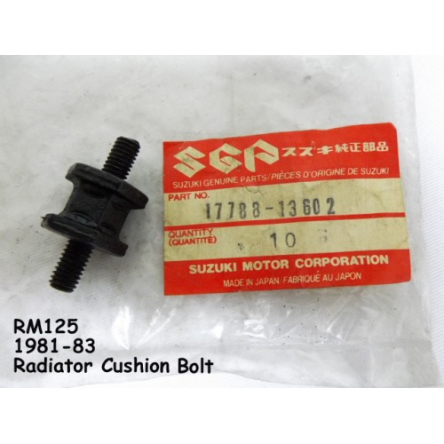 Suzuki RM125 Radiator Cushion Bolt 17788-13602