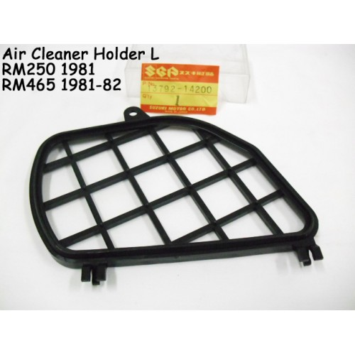 Suzuki RM250 RM465 Air Cleaner Holder L 13792-14200 AIR FILTER