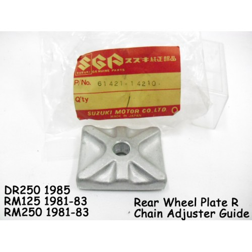 Suzuki DR250 RM125 RM250 Chain Adjuster Guide 61421-14210