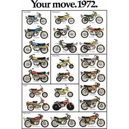 Honda 1972 Your Move T-Shirt