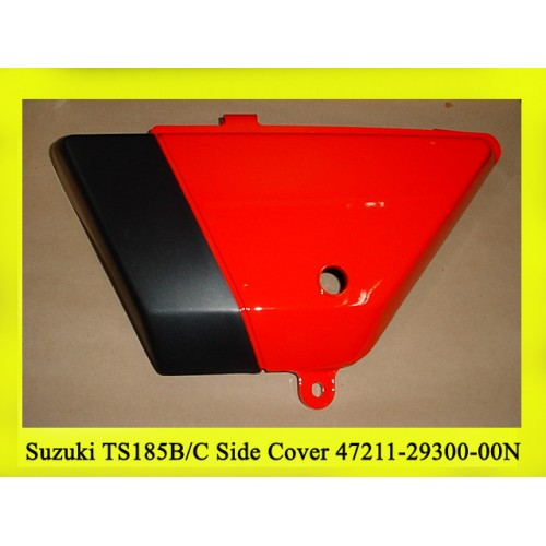 Suzuki TS185 Side Cover 1977-79 NOS DS185 1978-79 Side Cover 47211-29300-00N