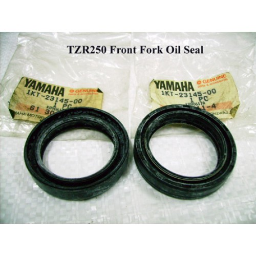 Yamaha TZR250 Front Fork Oil Seal x2 1KT 2MA 3XV PN: 1KT-23145-00