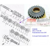 Yamaha TZR250 Transmission Gear 3MA-17231-00 free post