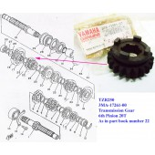 Yamaha TZR250 Transmission Gear 3MA-17261-00 free post
