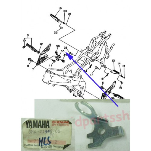 Yamaha TZR250 Stop Switch 3MA-2144G-00 free Post