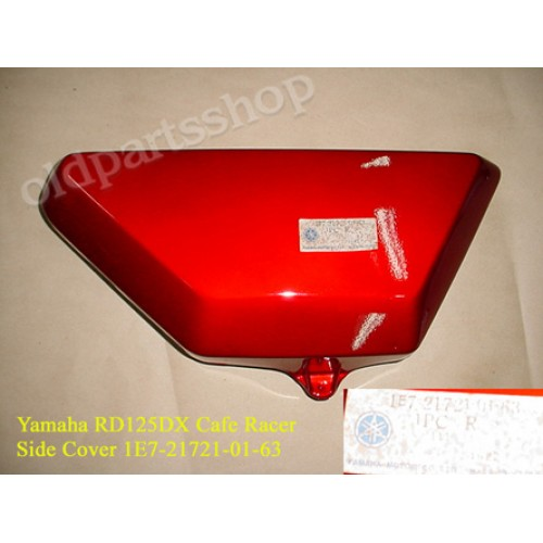 Yamaha RD125DX Side Cover RD125 CAFE RACER 1E7-21721-01-63 free post