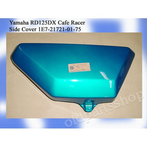 Yamaha RD125DX Side Cover RD125 CAFE RACER 1E7-21721-01-75 free post