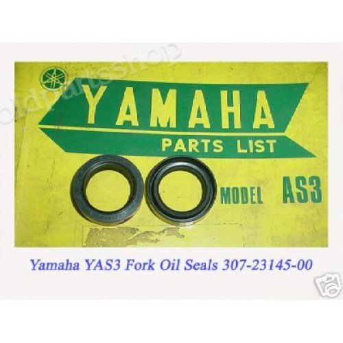 Yamaha TA125 YAS3 Front Fork Oil Seal x2 PN: 307-23145-00 free post