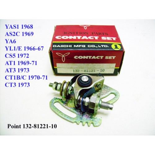 Yamaha YA6 AT1 AT3 YL1 CT1 CS5 CS3 YCS1 YAS2 YAS1 Contact Point 132-81221-10 free post