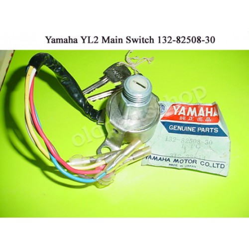 Yamaha YL1 L2 YH2 LT5 YG5 Main Switch / Ignition Switch 132-82508-30 free post